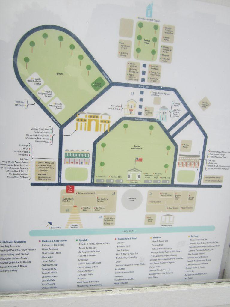 Plan de Seaside
