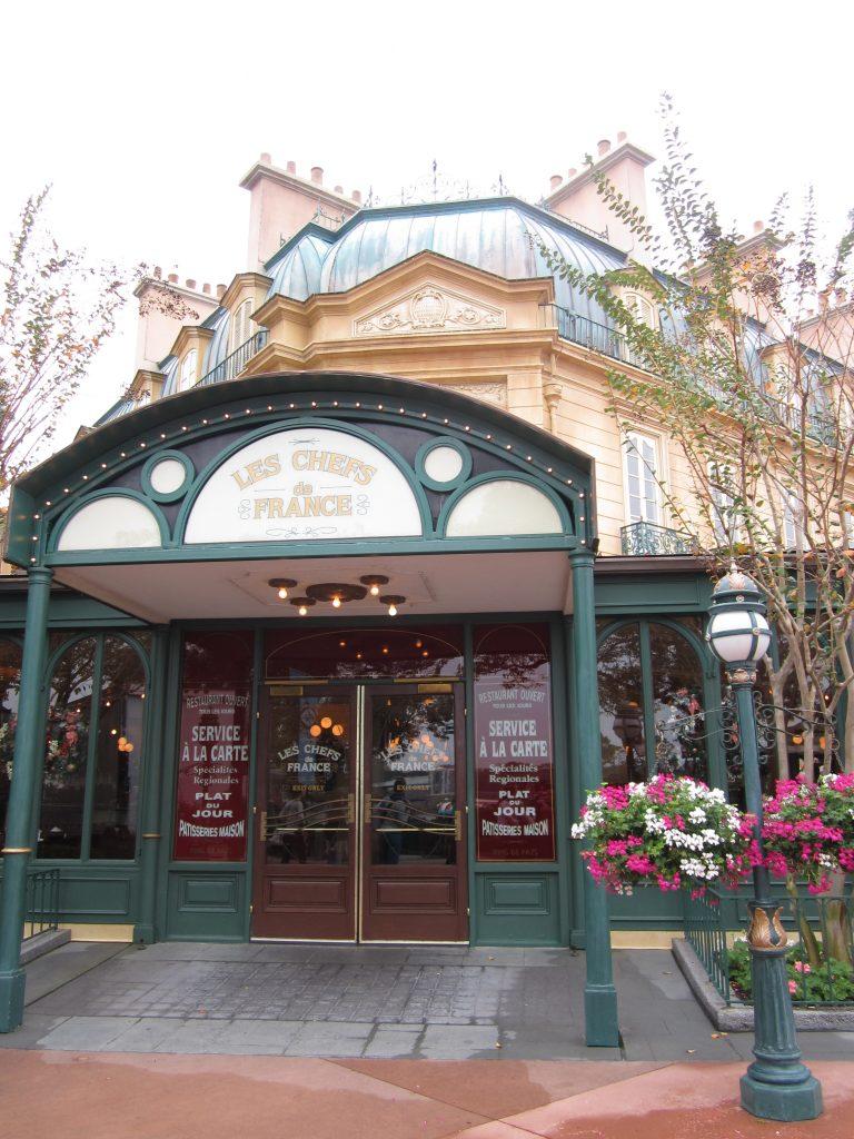 Le pavillon français à EPCOT, Orlando