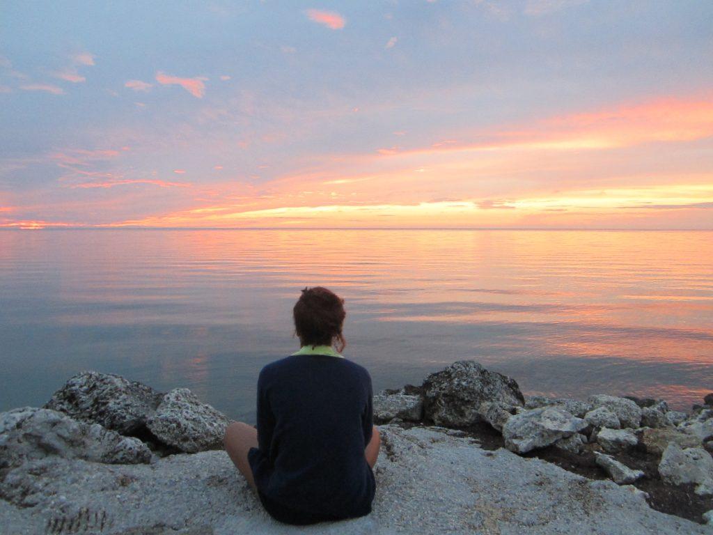 Magnifique coucher de soleil dans les Keys