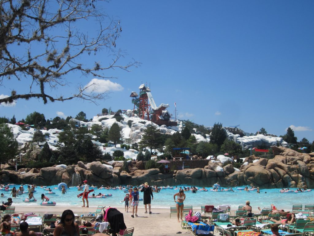 Un parc aquatique familial, Blizzard Beach