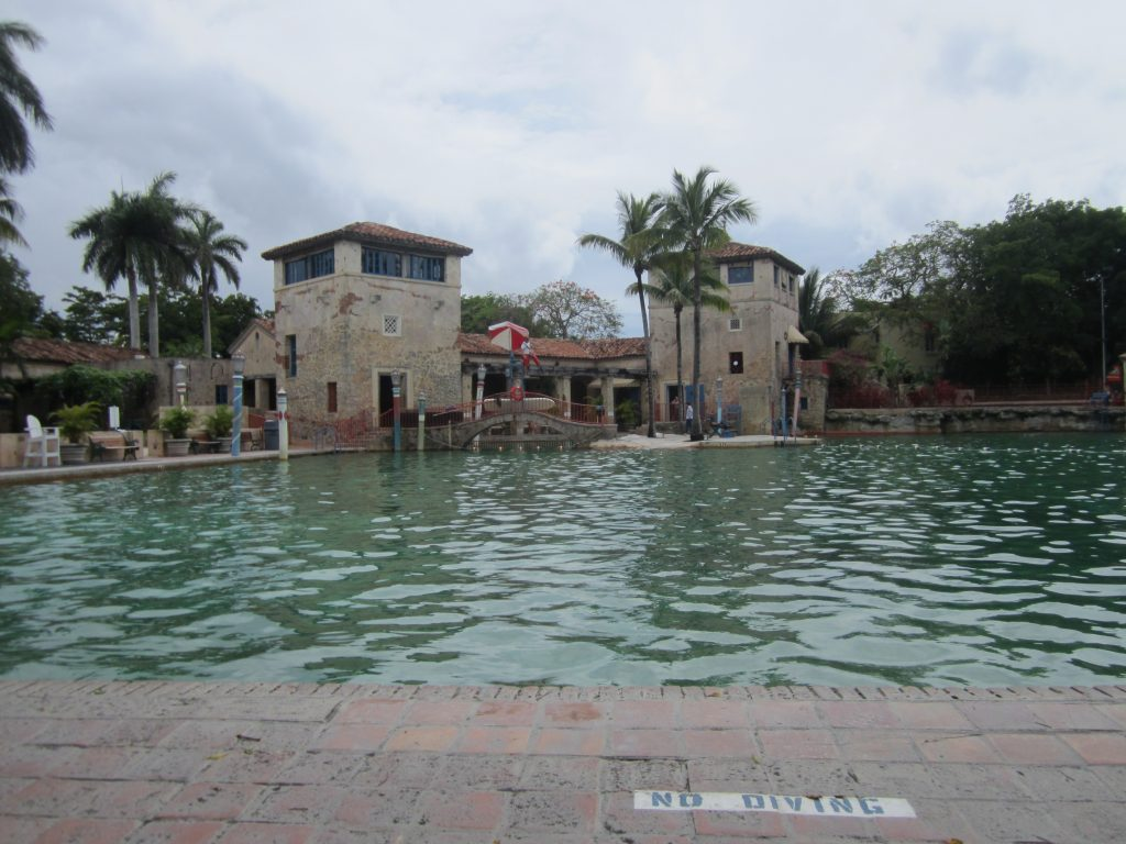 Venetian Pool à Coral Gables, belle piscine, lieu paisible