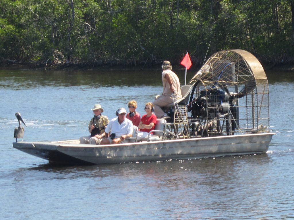 Promenade en airboat dans les Everglades